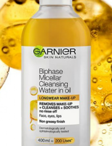 Dvofazna micelarna voda sa uljem učiniće vaše skidanje šminke zadovoljstvom!