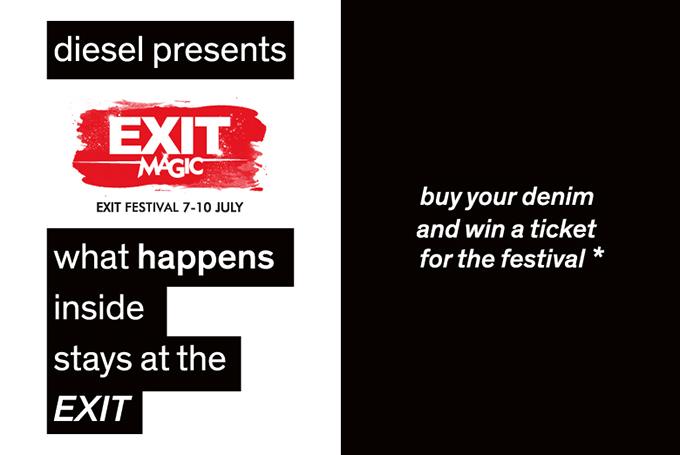 Facebook DIESEL EXIT Diesel vas vodi na Exit