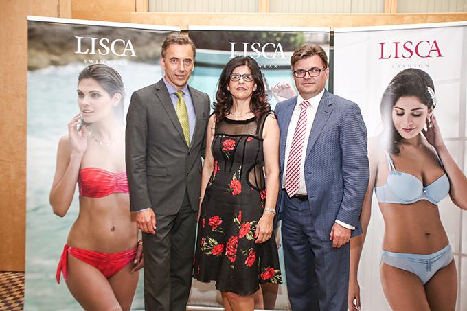 Goran Kodelja generalni direktor Lisca Sevnica Vesna in Dari Južna lastnika Lisca Sevnica Novi trendovi veša i kupaćih kostima za ovo leto