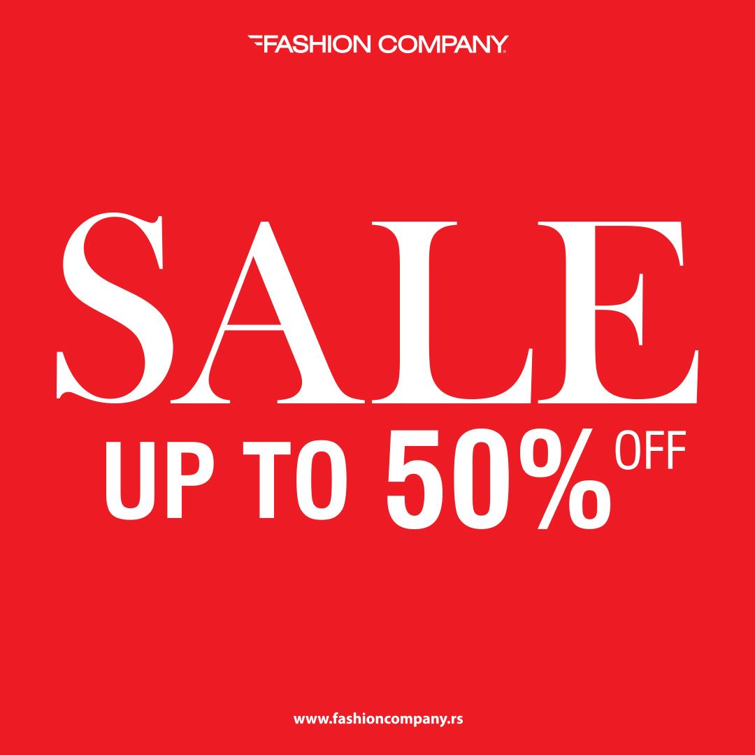INSTA Sezonsko sniženje do 50% u radnjama Fashion Company!
