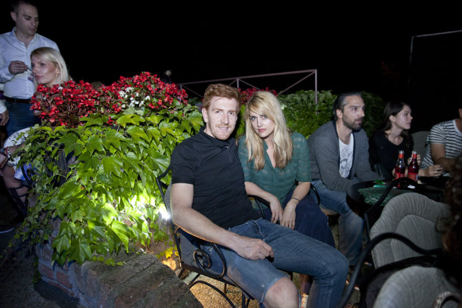 Vlada Aleksic i Tamara Krcunovic Modno muzički performans EXIT a i Fashion&Friends a na Kalemegdanskoj terasi