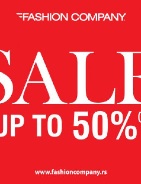 Sezonsko sniženje do 50% u radnjama Fashion Company!