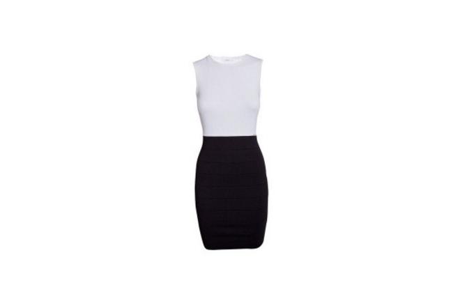haljina Crna i bela: Kombinacija koja NIKADA ne izlazi iz mode