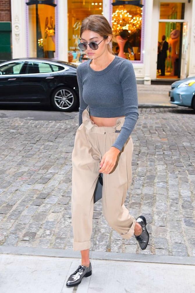 pantalone Kako da ISKOPIRAŠ stil Džidži Hadid