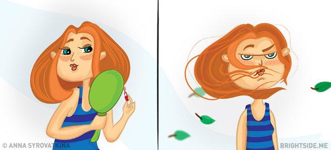 zene 1 Duhovite ilustracije koje će SVAKA žena razumeti