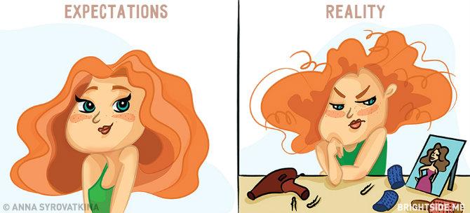 zene 2 Duhovite ilustracije koje će SVAKA žena razumeti