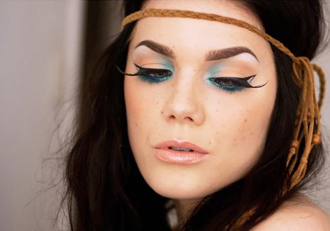 1 10 Ways to Make Your Eyes Pop Beauty trend sa modne piste: Ovog leta probudi sirenu u sebi!