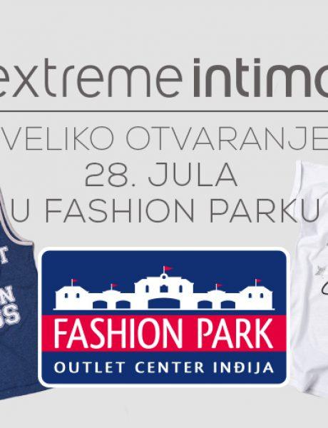 Extreme Intimo i Beba Kids – nove OUTLET prodavnice u Fashion Parku!