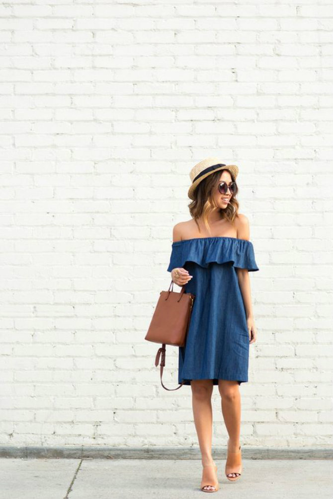 bez ramena 8 haljina savršenih za vrele letnje dane