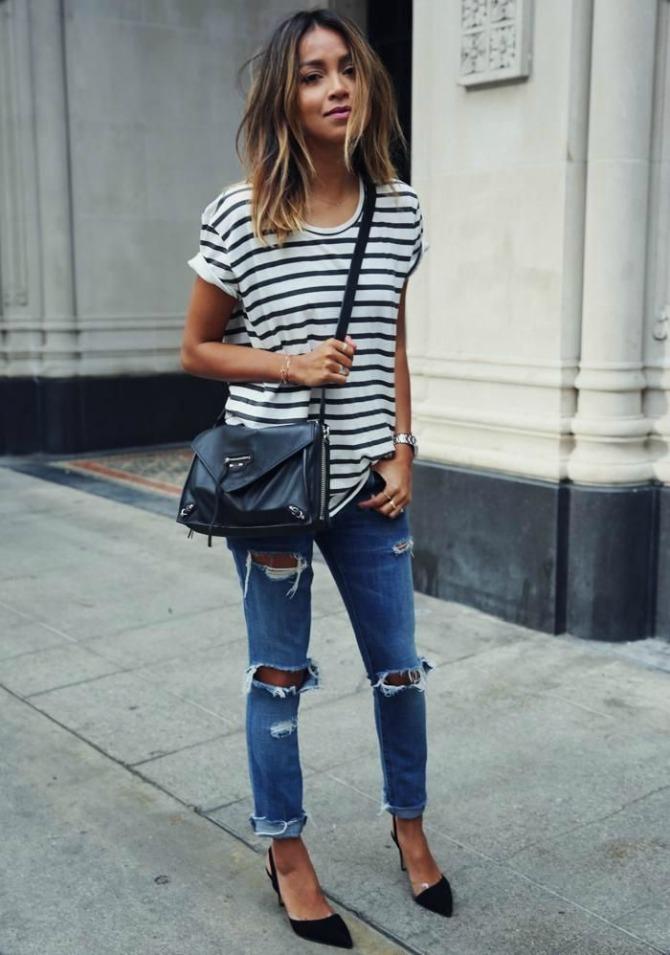 boyfriend jeans 7 Budi ženstvena i u BOYFRIEND farmerkama