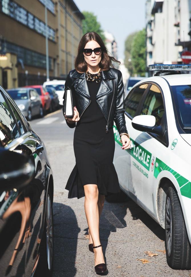 crna haljina Iskopiraj stil Odri Hepbern