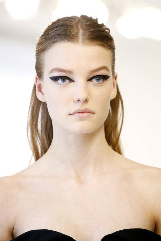 dior 1 Dior Haute Couture Fall 2016: Novi trend u šminkanju koji ćete RADO iskopirati