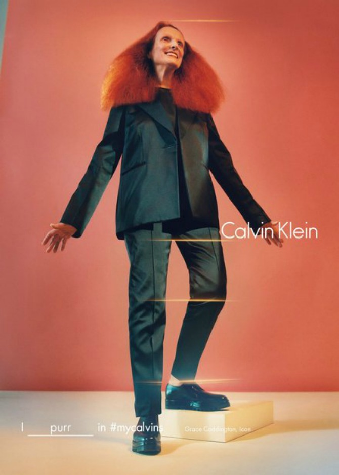 grejs 1 Grejs Kodington ponovo u ulozi modela za Calvin Klein