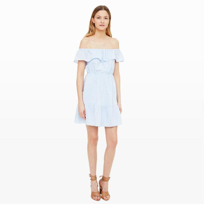 haljine 1 Najlepše haljine bez ramena koje VREDI probati