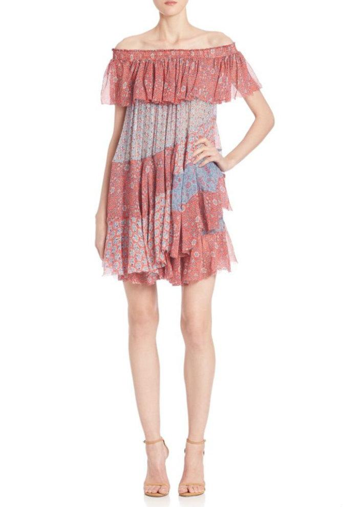 haljine 2 Najlepše haljine bez ramena koje VREDI probati