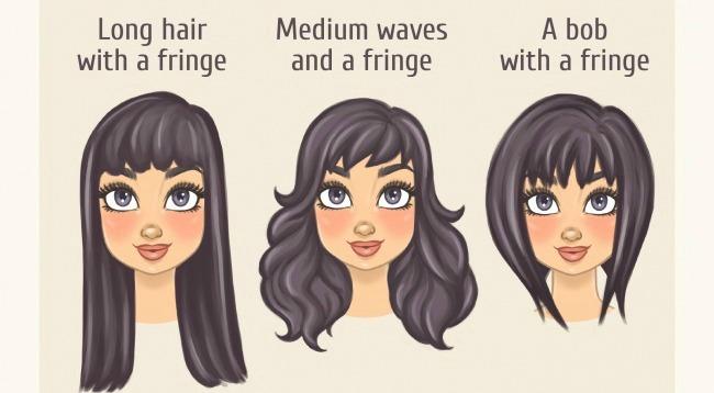 kvadratasto Odaberi savršenu frizuru za sebe prema obliku lica