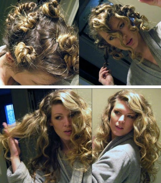 lokne 6 Jednostavni načini da uviješ kosu BEZ prese, figara ili viklera!