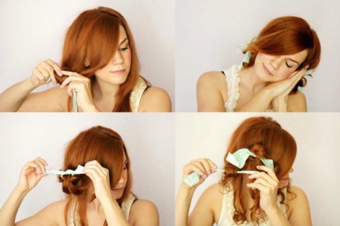 lokne 7 Jednostavni načini da uviješ kosu BEZ prese, figara ili viklera!