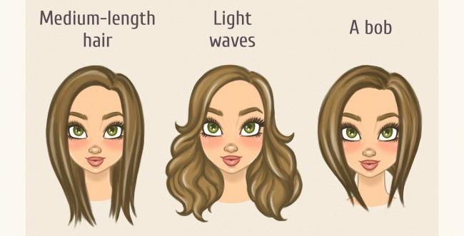 ovalno Odaberi savršenu frizuru za sebe prema obliku lica