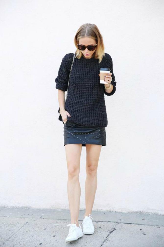 patike 2 Mini suknja najbolje izgleda uz OVU obuću
