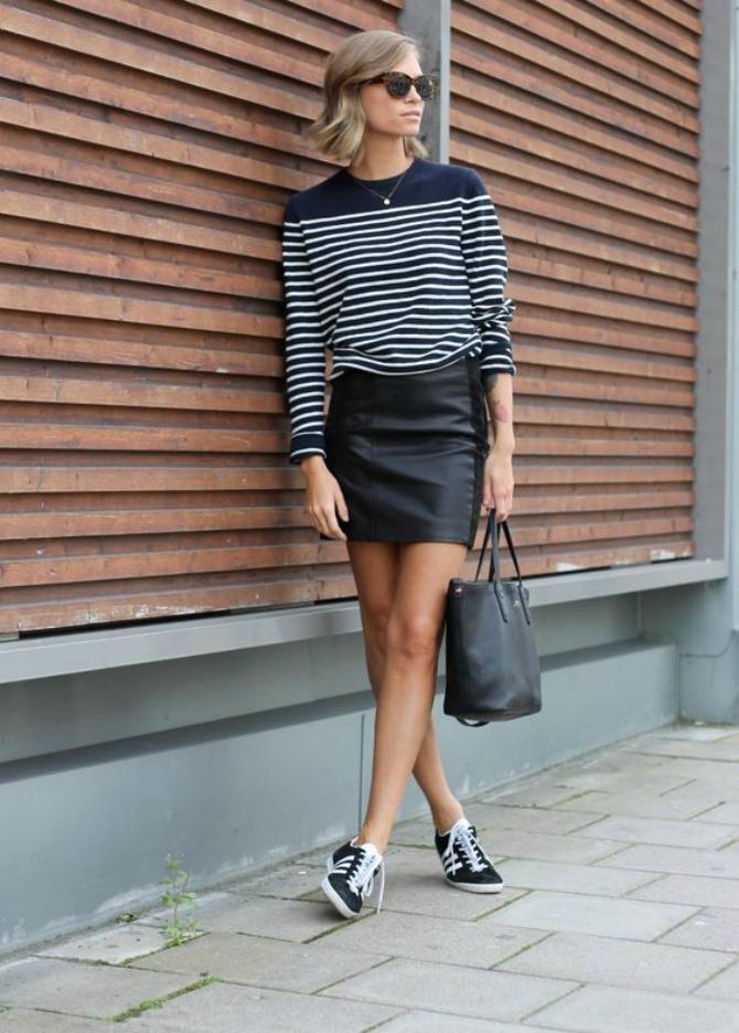 patike Mini suknja najbolje izgleda uz OVU obuću