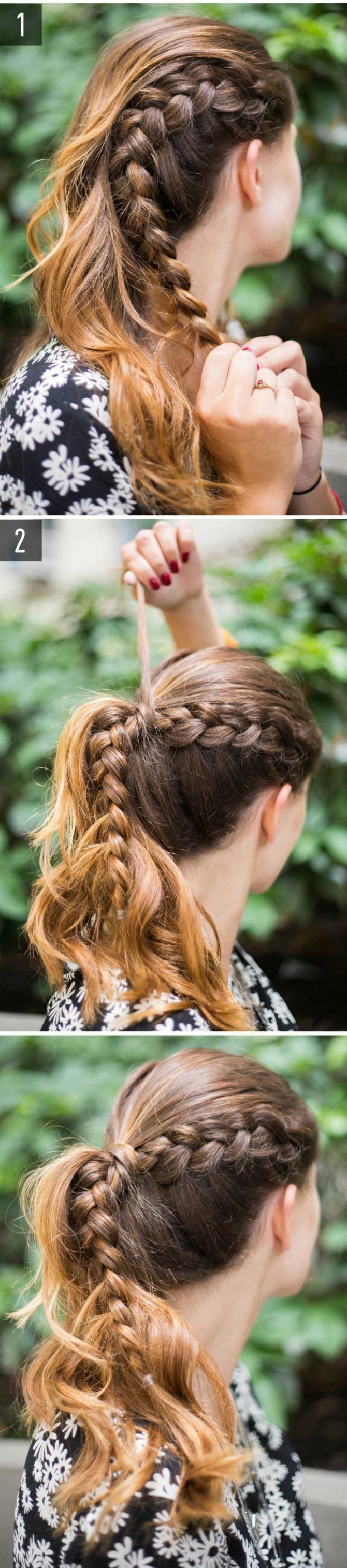 pletenica Izvanredne frizure za devojke koje STALNO kasne