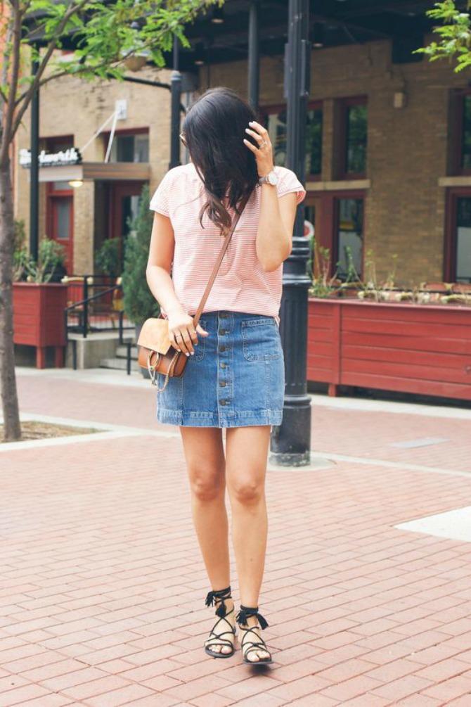 sandale 2 Mini suknja najbolje izgleda uz OVU obuću