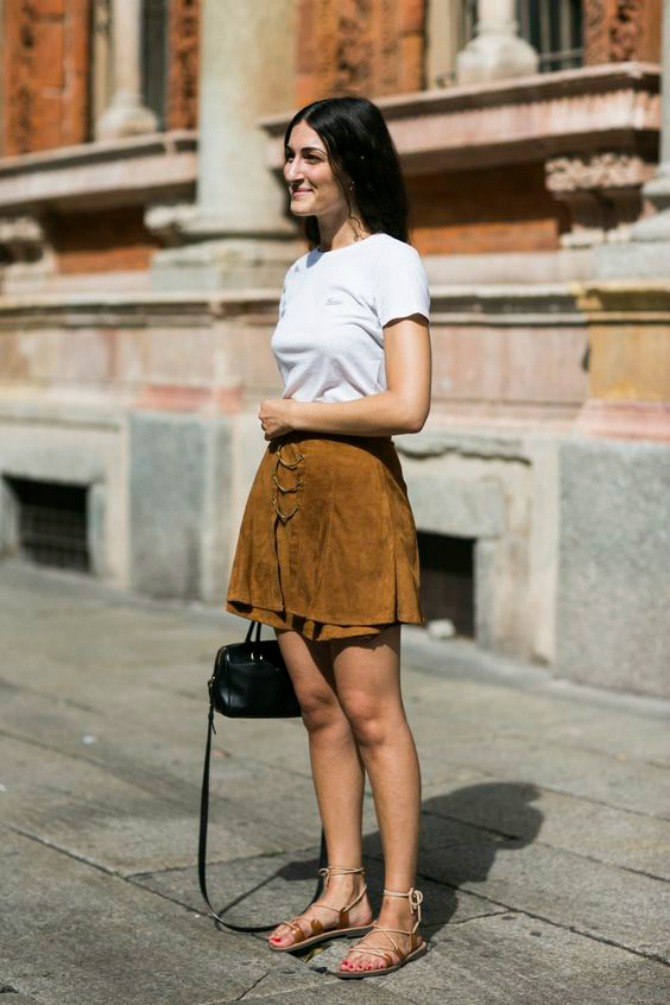sandale1 Mini suknja najbolje izgleda uz OVU obuću