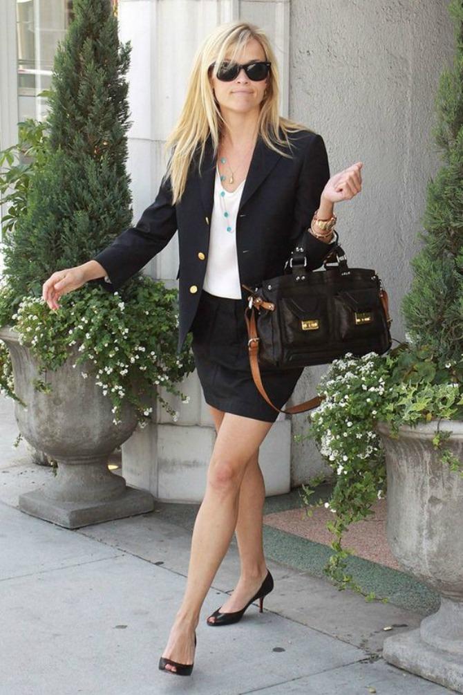 tanja stikla1 Mini suknja najbolje izgleda uz OVU obuću