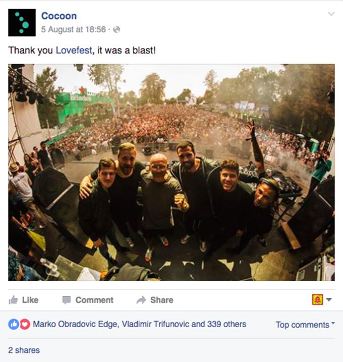 Cocoon Lovefest 2016 Pogledajte: Šta su SVETSKE zvezde rekle o Heineken Lovefestu