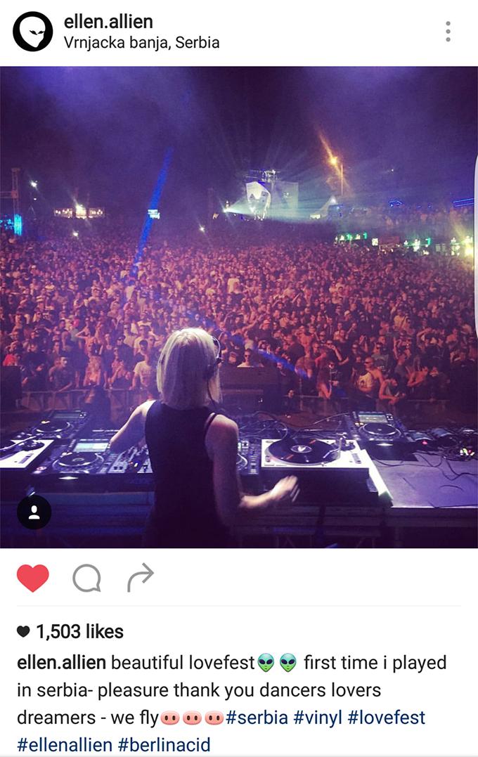 Ellen Allien Lovefest 2016 Pogledajte: Šta su SVETSKE zvezde rekle o Heineken Lovefestu