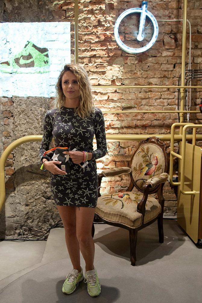 Glumica Bojana Ordinacev Otvoren unikatni shop za patike u Beogradu