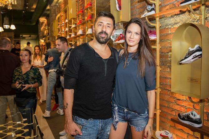 Ognjen Amidzic i Danijela Dimitrovska Otvoren unikatni shop za patike u Beogradu