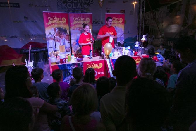Pocinje skola Veliki naucni sou Održan festival Počinje škola