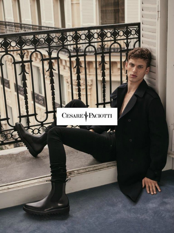 SHOT02 0006 CMYK Mathilde Brandi u jesenjoj kampanji: Novi imidž brenda Cesare Paciotti