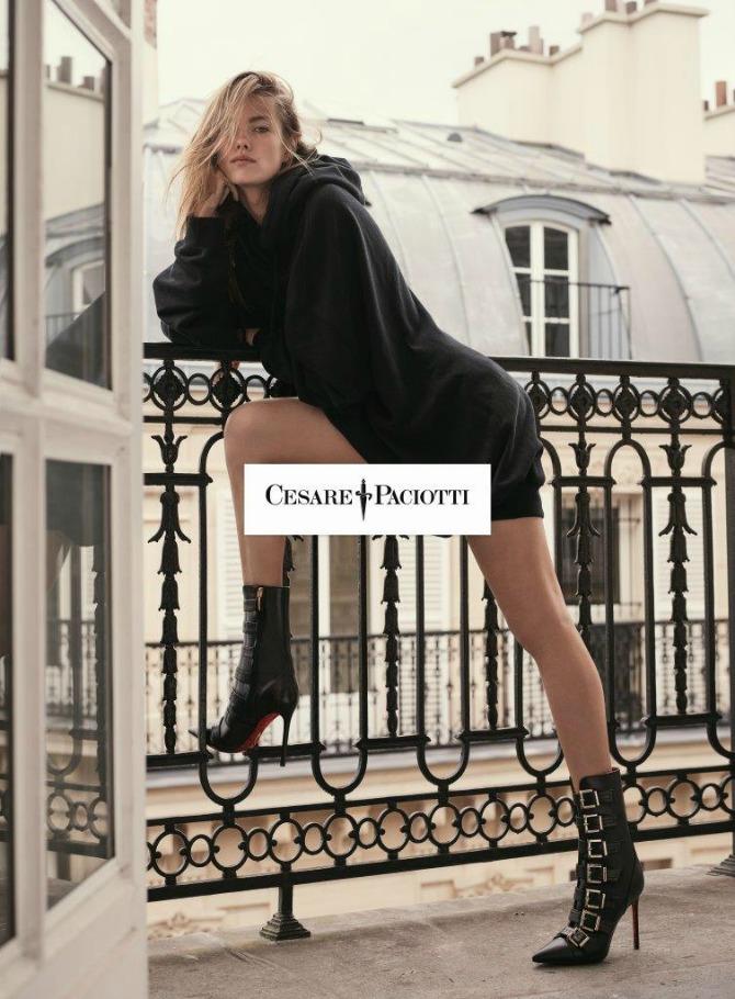SHOT04 0259 CMYK Mathilde Brandi u jesenjoj kampanji: Novi imidž brenda Cesare Paciotti