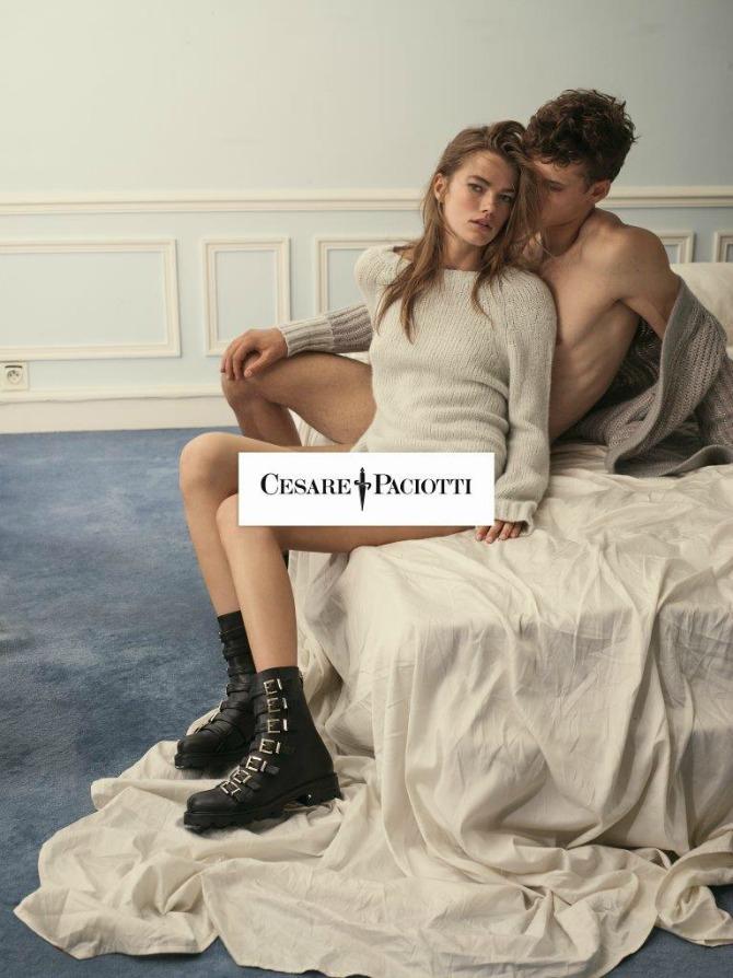 SHOT06 0383 CMYK Mathilde Brandi u jesenjoj kampanji: Novi imidž brenda Cesare Paciotti