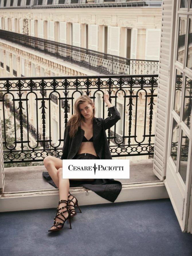 SHOT09 0569 CMYK Mathilde Brandi u jesenjoj kampanji: Novi imidž brenda Cesare Paciotti