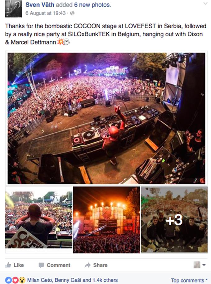 Sven Vath Lovefest 2016 Pogledajte: Šta su SVETSKE zvezde rekle o Heineken Lovefestu