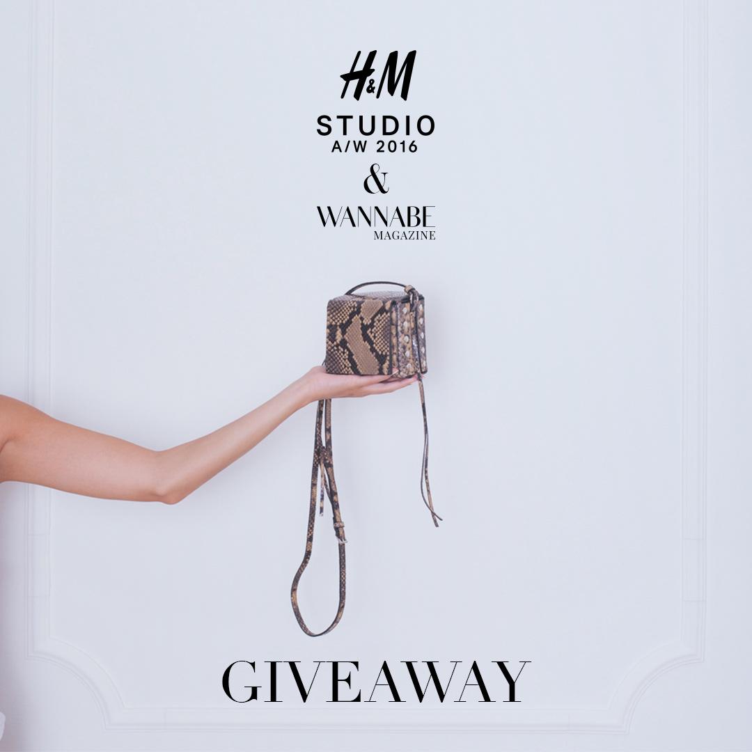 Wannabe HM Instagram 1080x1080 1 H&M Studio kolekcija za jesen/zimu 2016 + GIVEAWAY