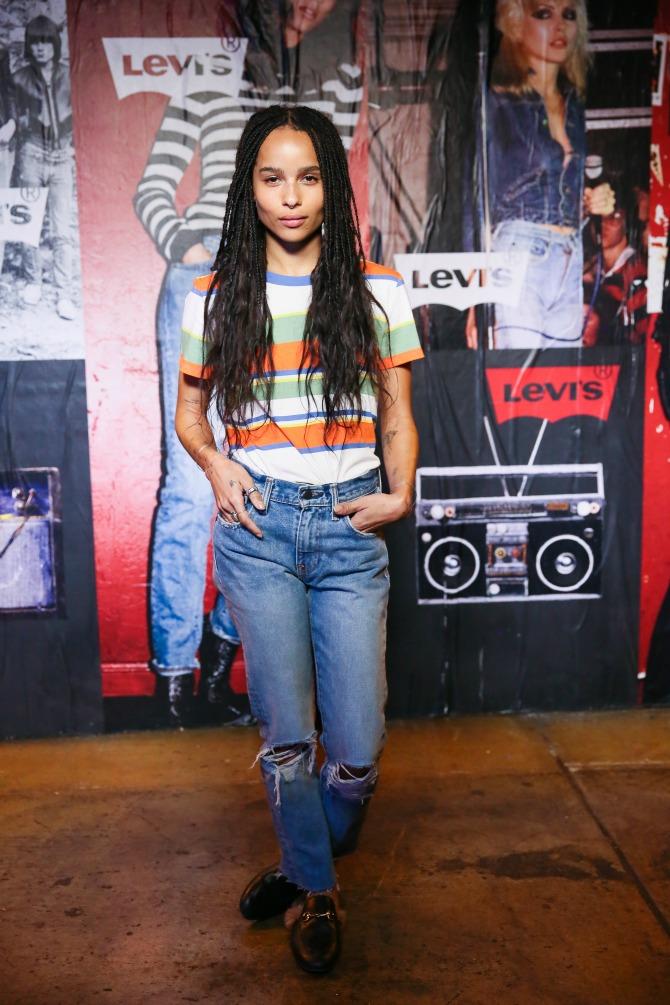 Zoe Kravitz Levi's lansirao modelL 505™C koncertom rok legende Debi Hari