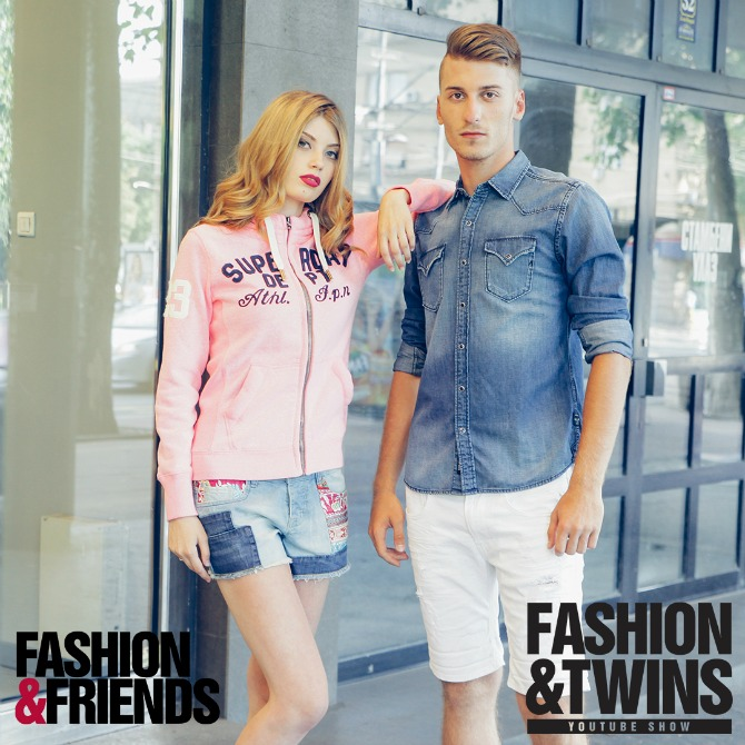 andrej i mina2 Fashion&Twins: Mina i Andrej Radović, 4. epizoda