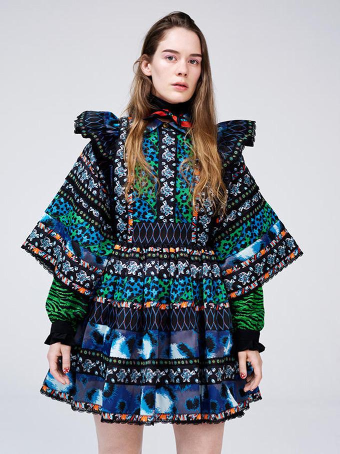 hm kenzo2 Anna of the North u ekskluzivnoj KENZO x H&M haljini