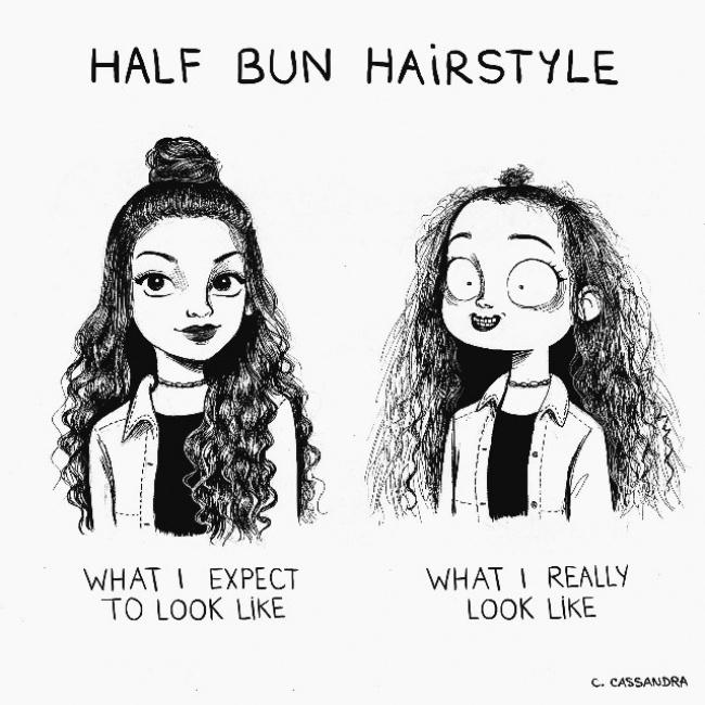 ilustracije 5 Šašave ilustracije koje će svaka devojka razumeti
