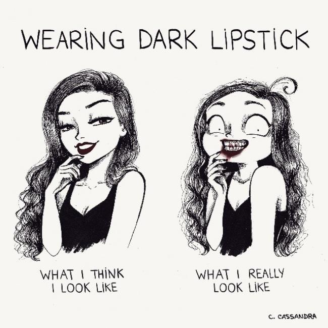 ilustracije 8 Šašave ilustracije koje će svaka devojka razumeti