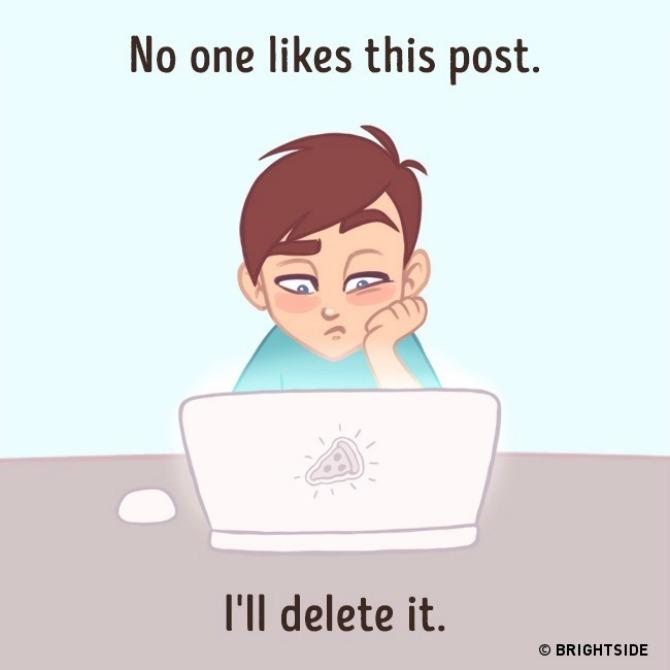 ilustracije kako se ponašamo na društvenim mrežama 1 Ove ilustracije NAJBOLJE pokazuju kako se ponašamo na društvenim mrežama