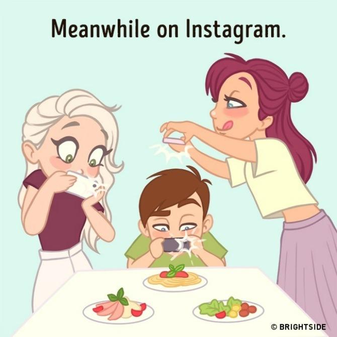 ilustracije kako se ponašamo na društvenim mrežama 7 Ove ilustracije NAJBOLJE pokazuju kako se ponašamo na društvenim mrežama