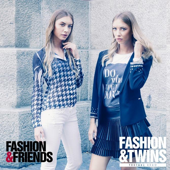 maja i ana twins Počeo je show Fashion&Twins