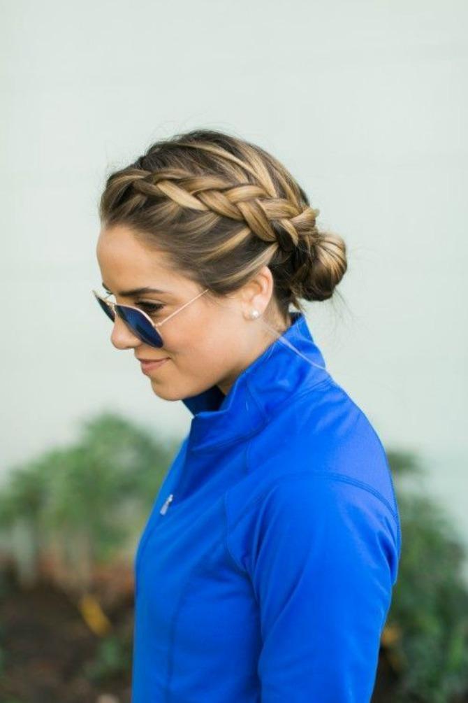 prakticne frizure koje mozete nositi na treningu 3 Praktične frizure koje možete nositi na treningu