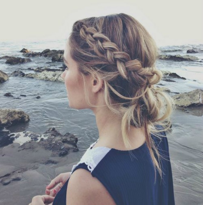 prakticne frizure koje mozete nositi na treningu 4 Praktične frizure koje možete nositi na treningu